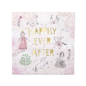 Fairy Tale Napkins - pack of 16
